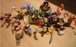 All Donkey Kong Figurines