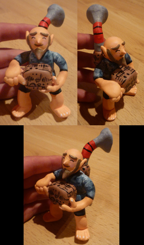 Guru-Guru Figurine by Jelle-C