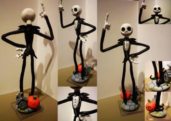 Jack Skellington Figurine by Jelle-C
