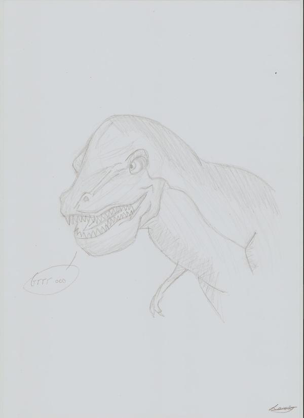Laro's galery T_rex_by_claire_lawelk-d3bgkfo