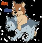 Pup Acru and Sura