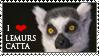 Lemur catta_stamp by Aquene-lupetta