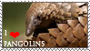 Pangolin_stamp by Aquene-lupetta