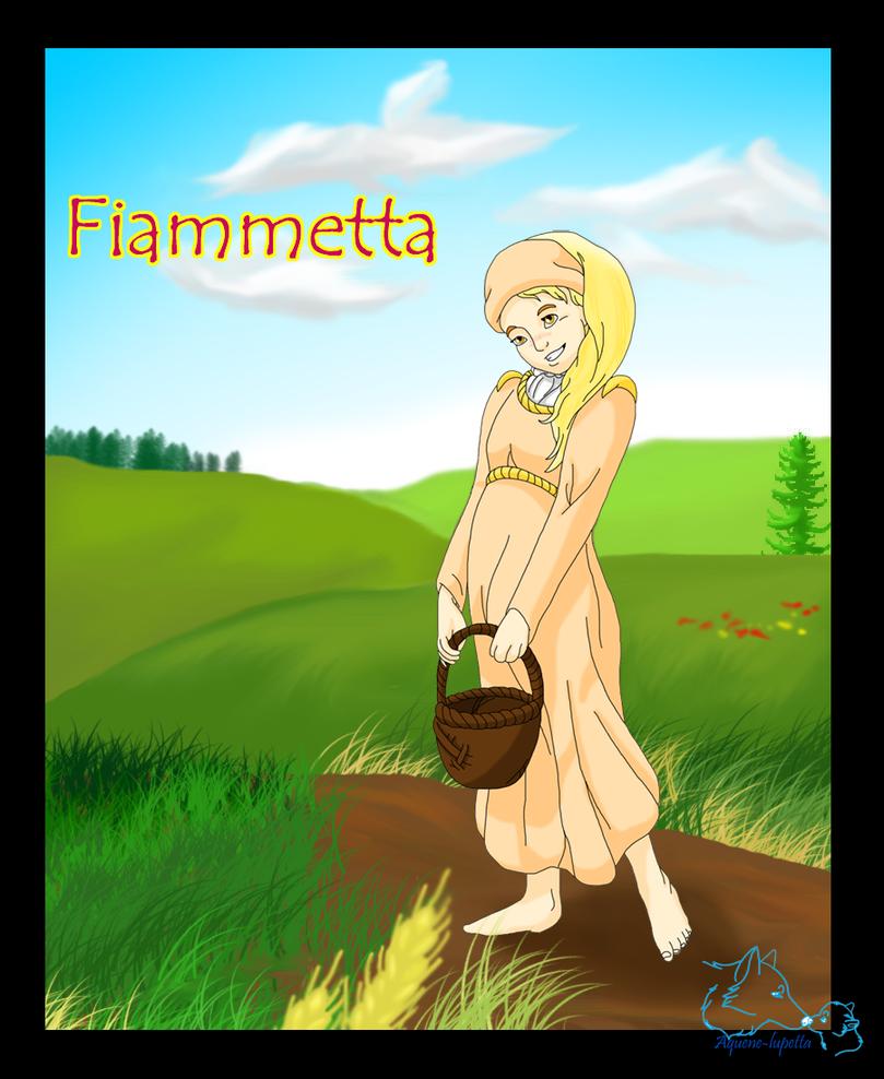 Fiammetta by Aquene-lupetta