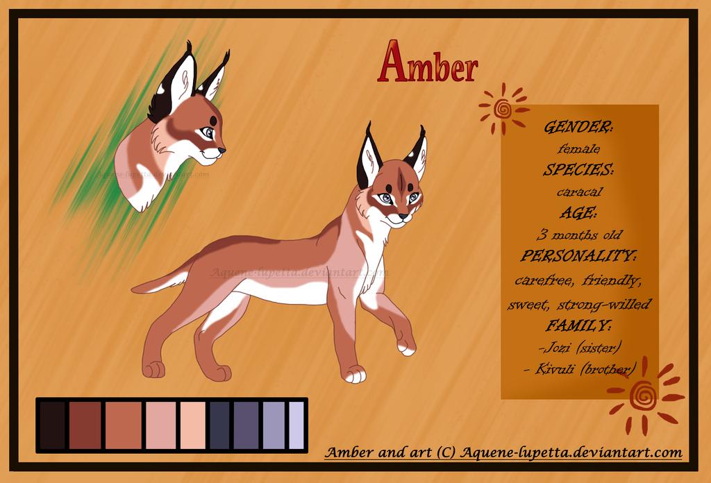Amber_Character sheet by Aquene-lupetta
