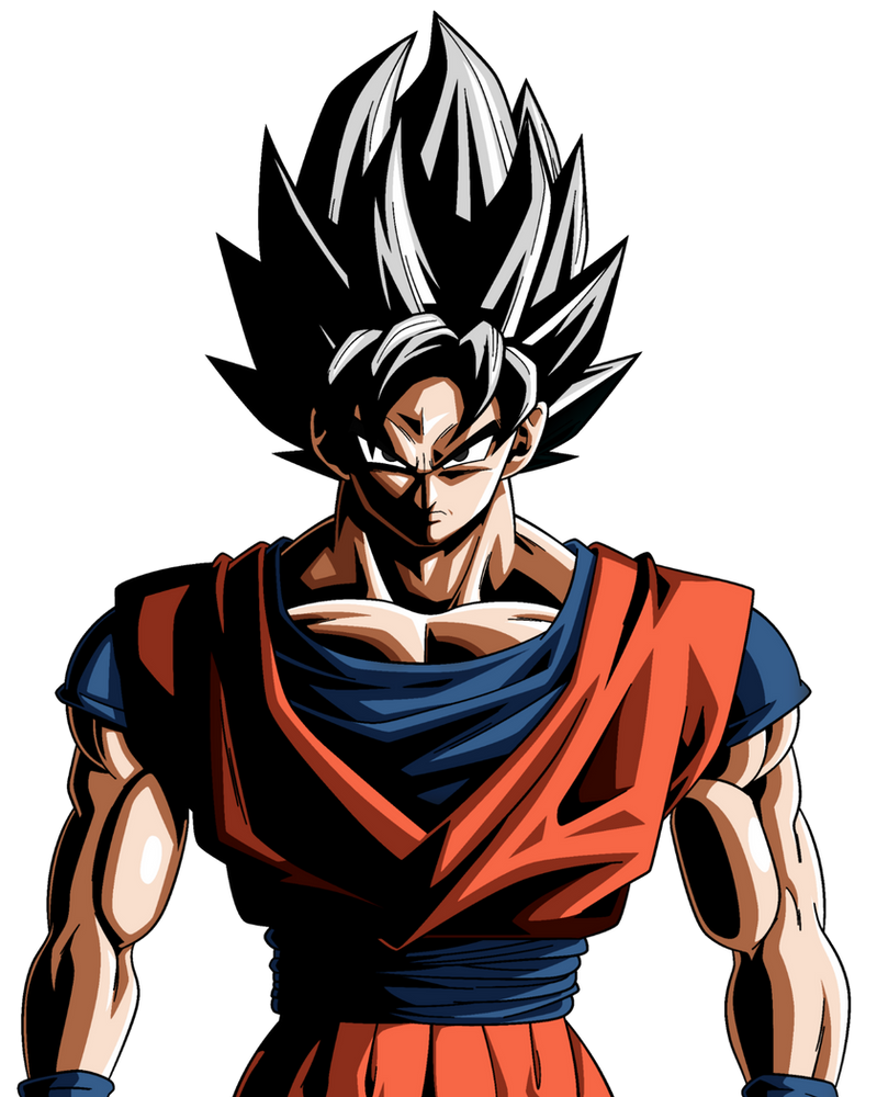 Mystic Goku (Version 2) by OnePunchSmash