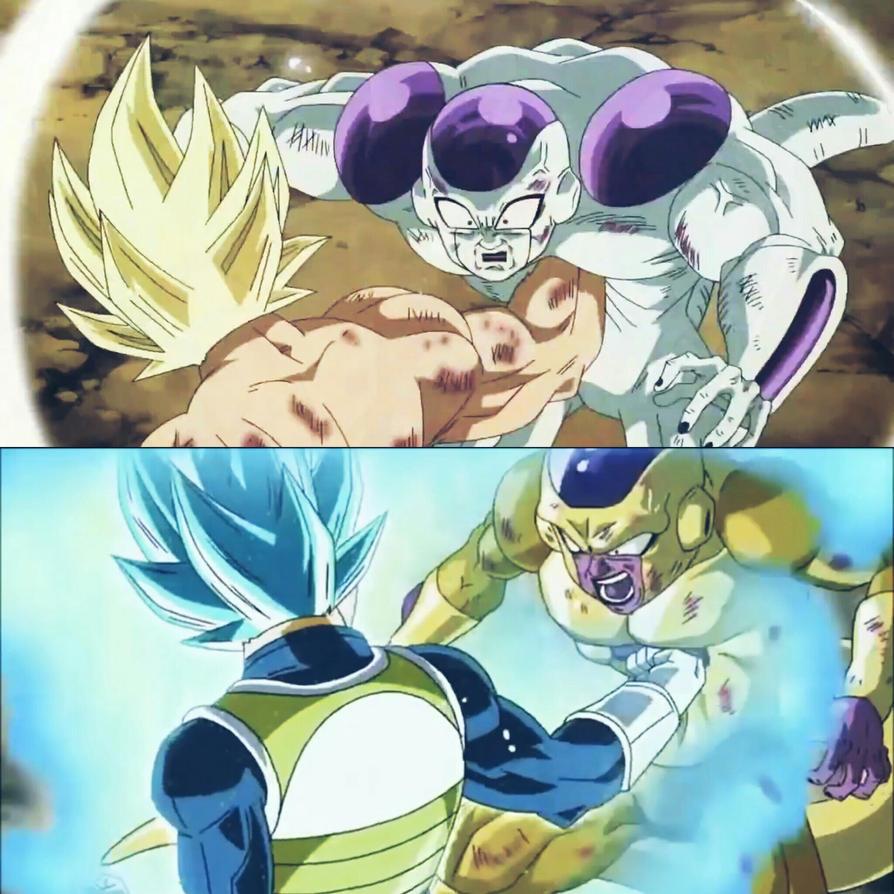 Goku and Vegeta - The Badasses. by OnePunchSmash