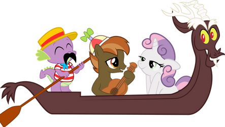 SWEETIE BELLE X BUTTON MASH: THAT'S AMORE by SteGhost