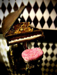 the piano by Monochrome-Clown