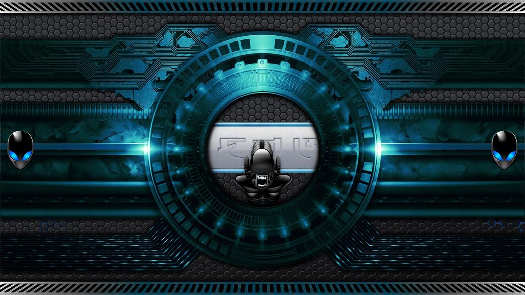 Fond Alien 2 by MisterOiso