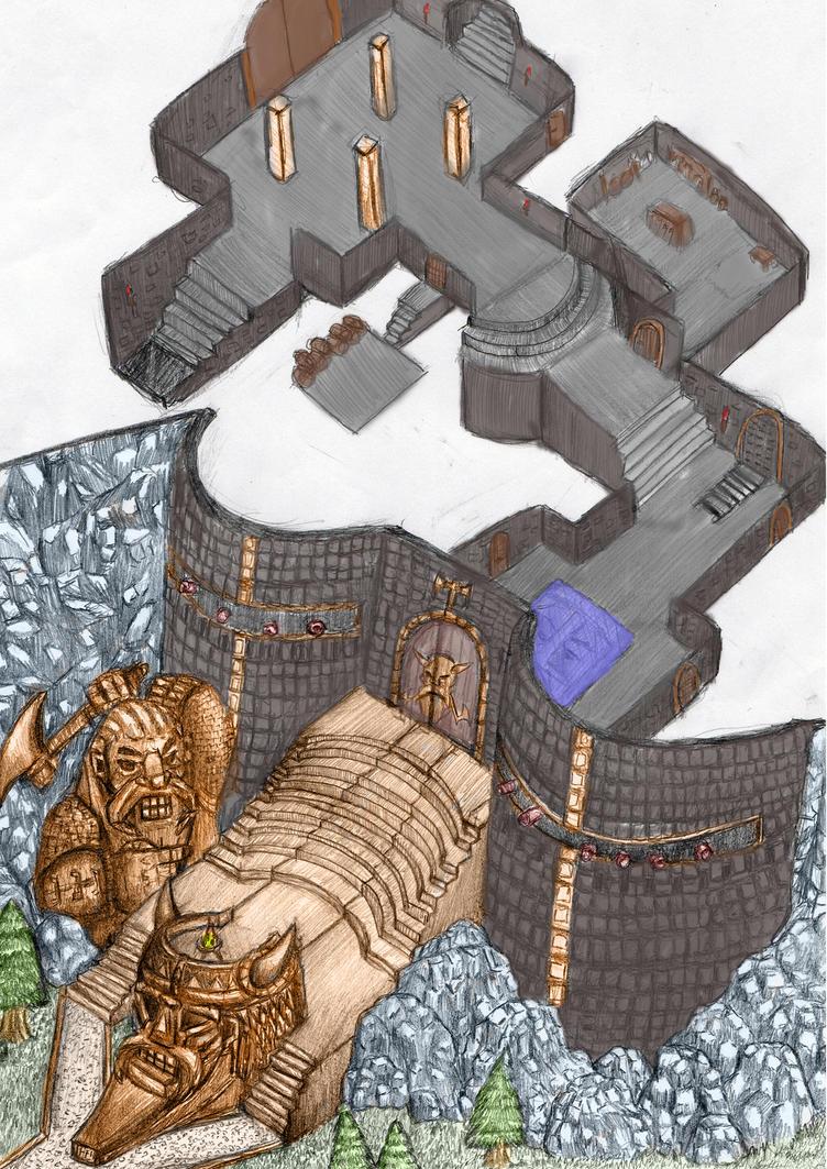 Dwarf Hold by Langkjaer