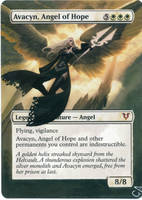 MTG Altered Card_Avacyn, Angel of Hope by GhostArm1911