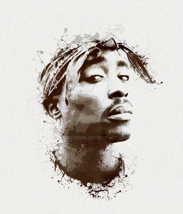 Tupac by LJAstudios