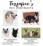 Pet Portrait Commission Info 2021 (OPEN)
