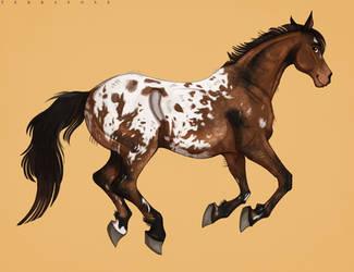 Chief The Horse (C) by Terrafoxe