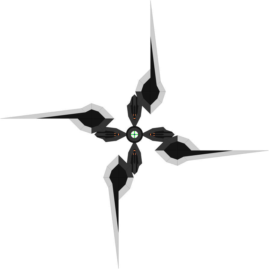 The Oblivion Huricane Shuriken by Chaos-Infection