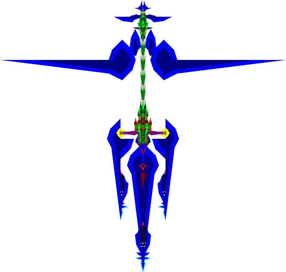 The Durandal-X giga-bomber by Chaos-Infection