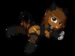 Nightmare Night - Crossdressing Cat Plushie Martin