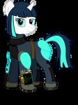 Commission - Fallout Equestria - Dragonfire