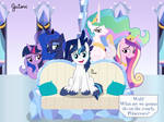 Shining Armor Surrounded by Gutovi
