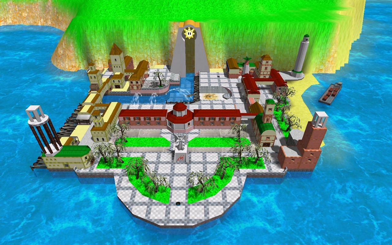 Delfino Plaza Map