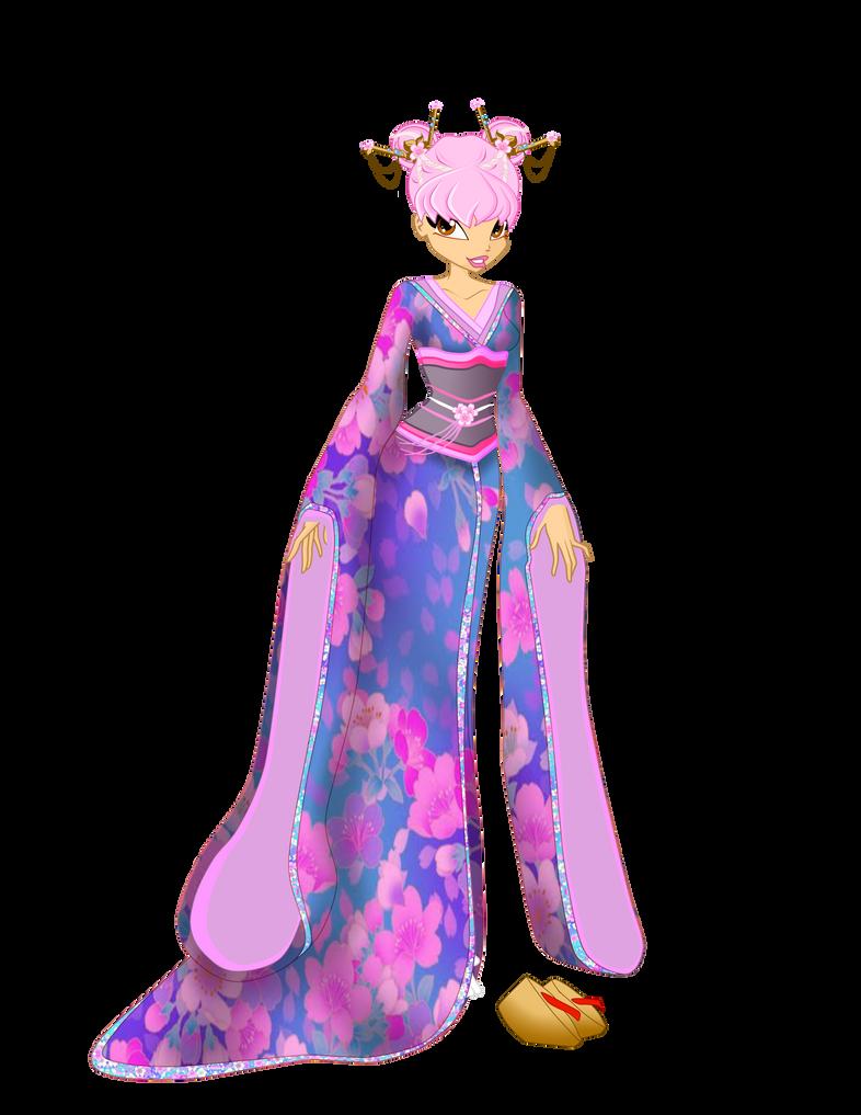OC Eustacia - Asian Fashion commisson by queenvampire22