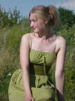 zielona sukienka by m-o-n-i-e-k