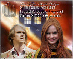 Fifth Doctor and Amy Pond by Vanessa28