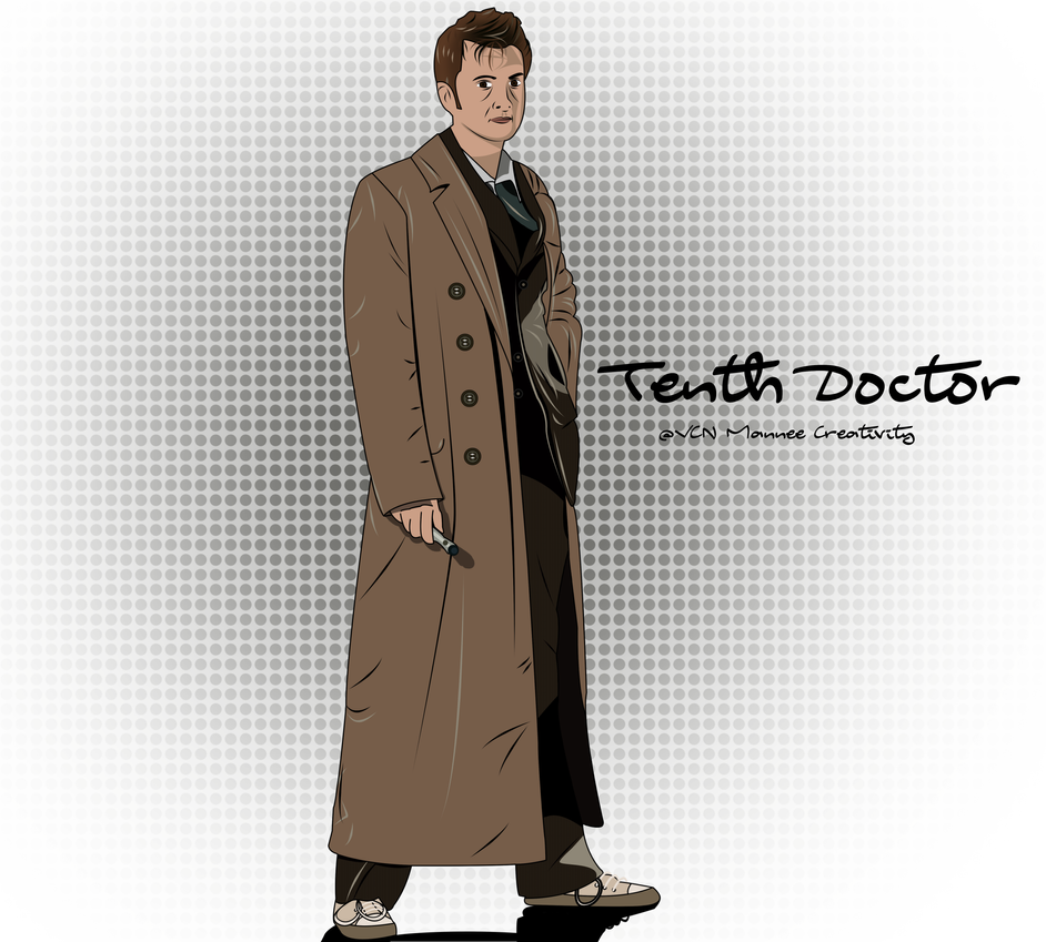 Tenth Doctor Comic by Vanessa28