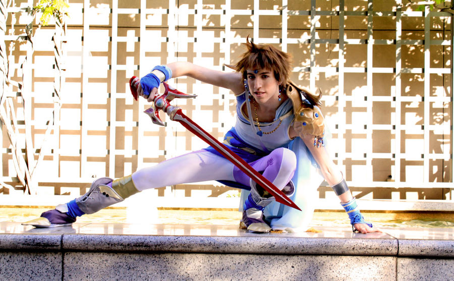 Free Soul- Bartz Final Fantasy Cosplay by Detailed-Illusion