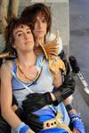 Ridin' a Dream Squall X Bartz cosplay