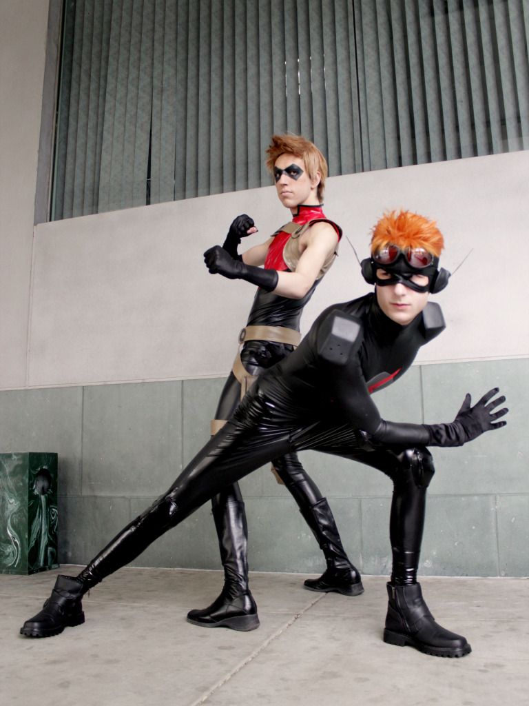 Get Back- Red Arrow and Kid Flash cosplay by Detailed ...