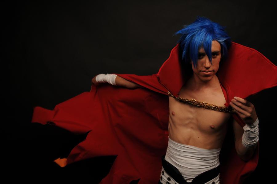 Brush the dangerous- Kamina cosplay