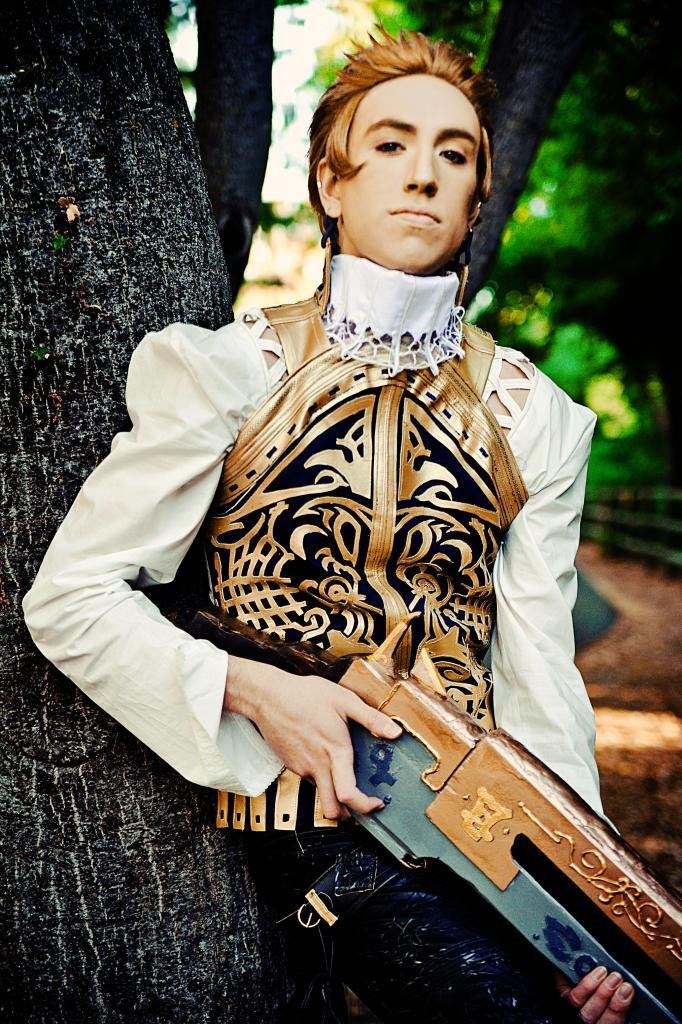 What Do I Stand For Balthier Cosplayer By Detailed