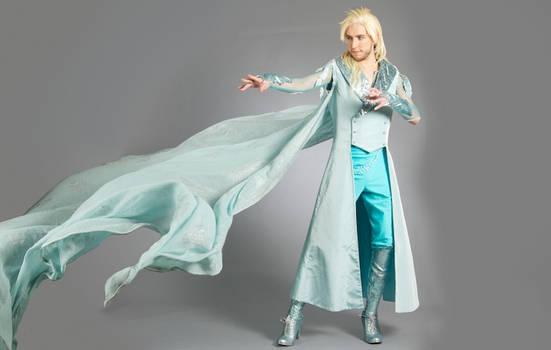 Genderbent Elsa - Fight through the storm
