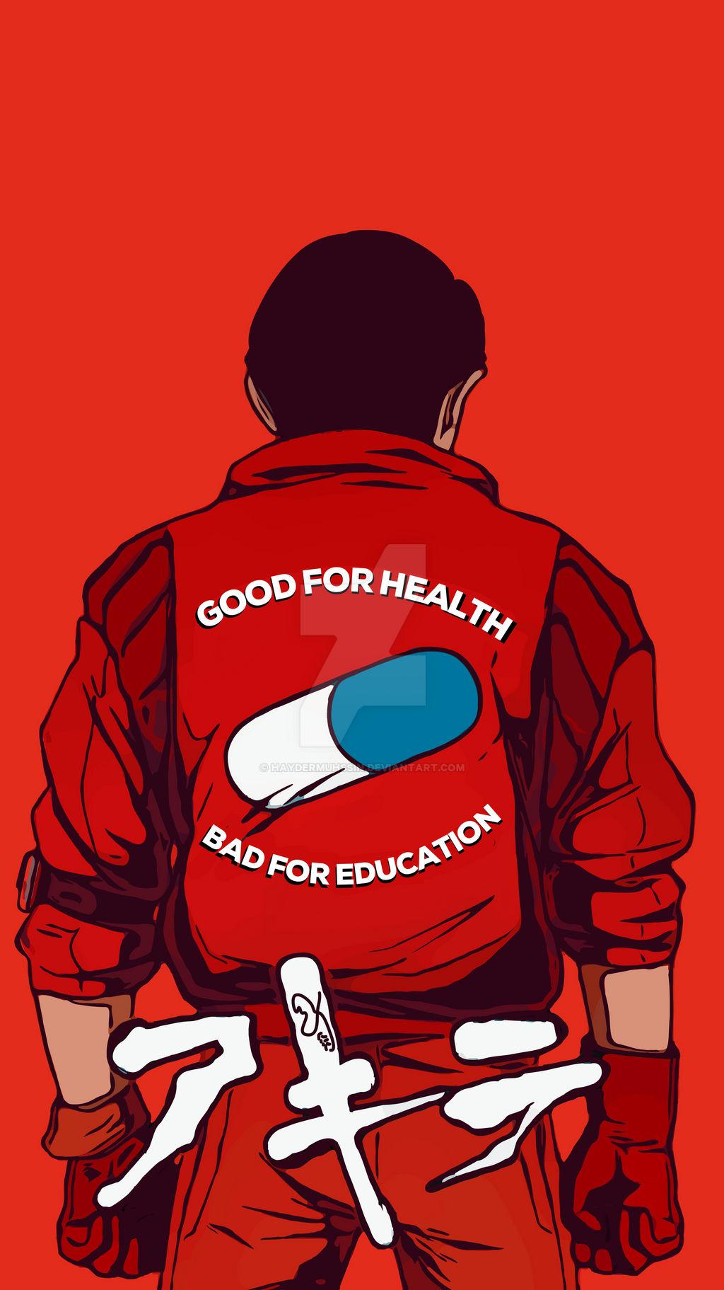Akira Bad For Education By Haydermuhssin On Deviantart