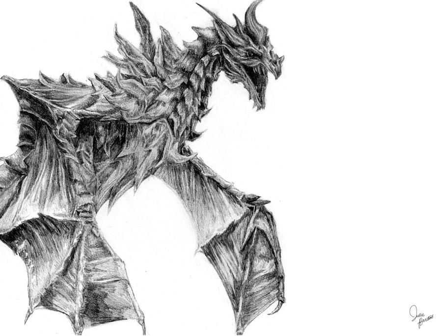 Alduin by KHArt08