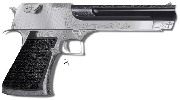 Pistol: Silver by NimainaSekan