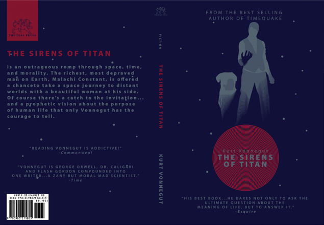 Sirens of Titan Book Jacket by isthenewblack