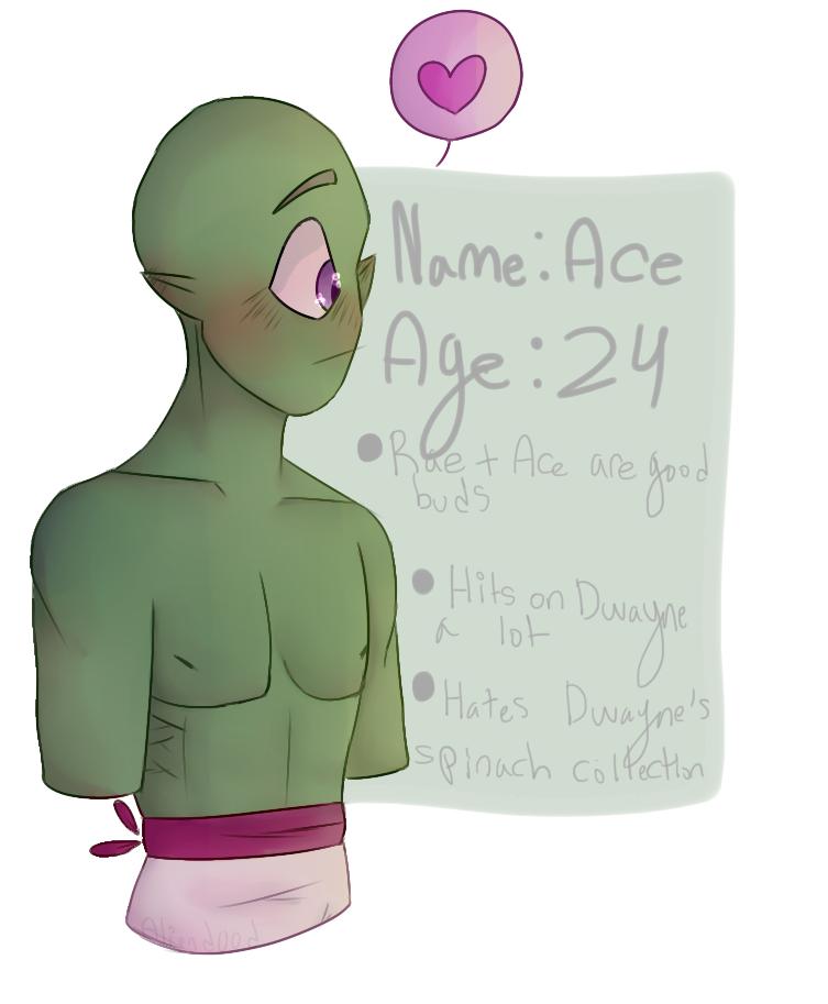 Introducing Bisexual Alien Man by aliend00d
