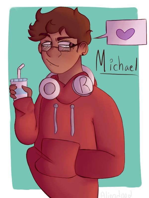 MICHAEL MAKES AN ENTRANCE by aliend00d