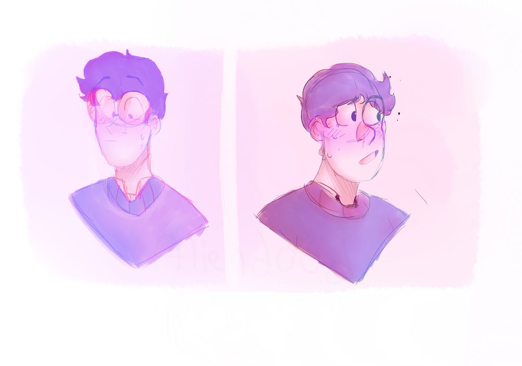 purps and pinks by aliend00d
