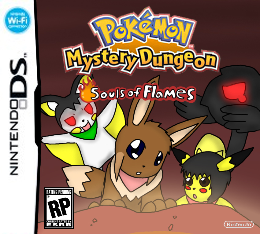 Pokemon Mystery Dungeon Souls Of Flames For Ds By Chaos55t On Deviantart