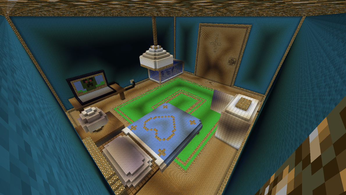 My Minecraft Room By Chaos55t On DeviantArt
