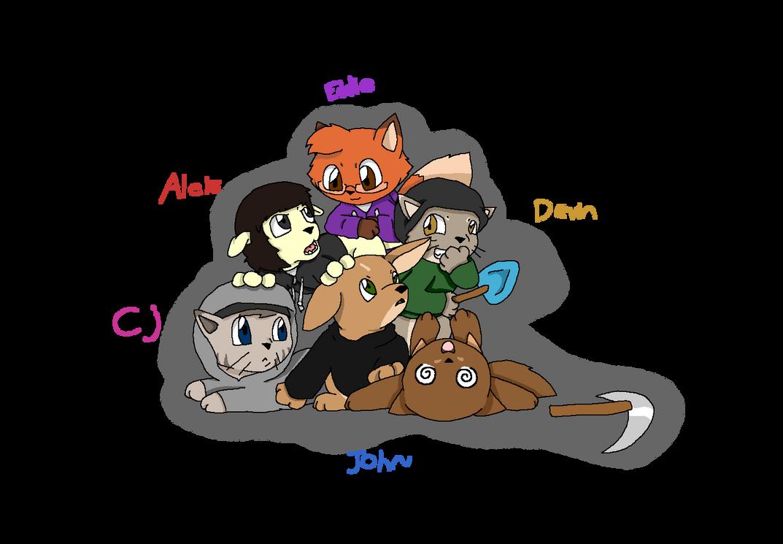 SIYR as cute animals by Chaos55t