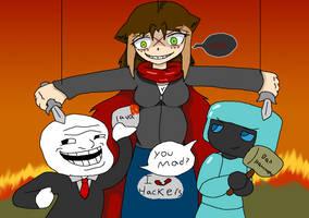 I hate hackers :non-fiction creepypasta: by Chaos55t
