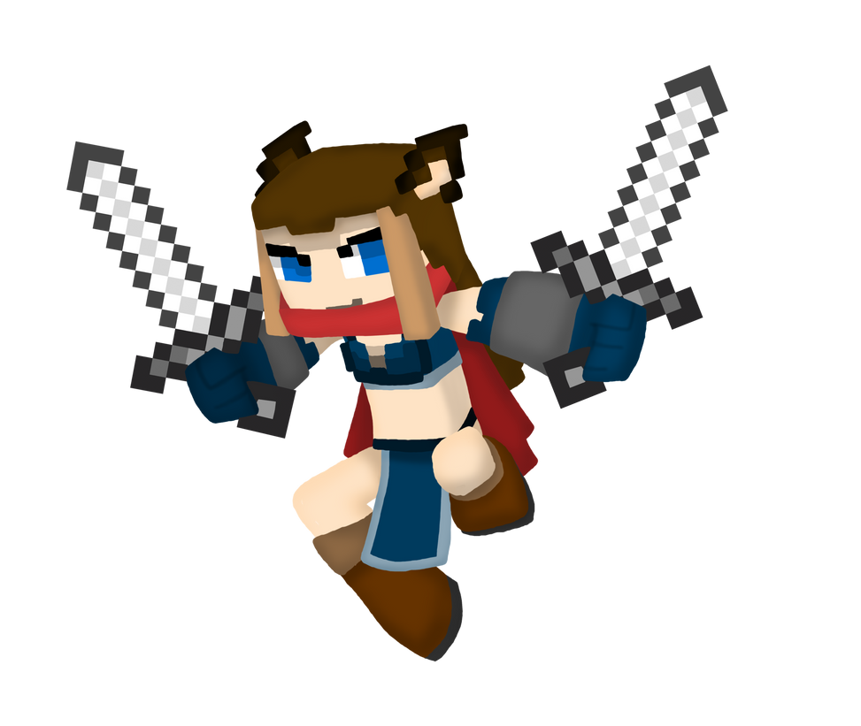 3D Minecraft skin: ArtyKay by Chaos55t