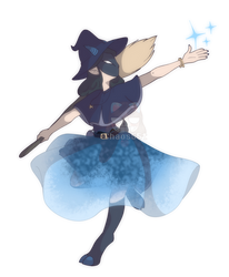 OC redesign: Lilly Gray by Chaos55t