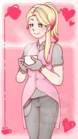 Comm: Love coffee