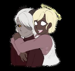 Comm: Hugs!